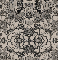 Indian Floral Taupe