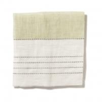 Broad Stripe Top Stitch Linen Primrose