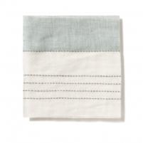 Broad Stripe Top Stitch Linen