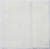 Drawn Thread Fabric Ladder Stitch Edge