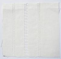 Drawn Thread Fabric Stitch Rows