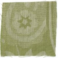 Large Paisley Fern Green