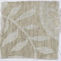 Large Paisley Linen Natural