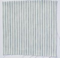 Narrow Stripe Linen Parma Grey