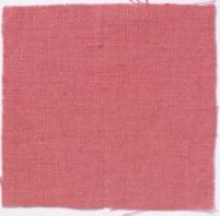 Plain Weave Linen Coral