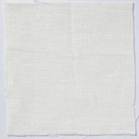 Plain Weave Linen Ivory White