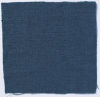 Plain Weave Linen Prussian Blue