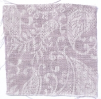 Small Paisley Linen Rose Taupe