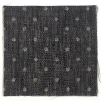 Spot Linen Black