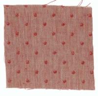 Spot Linen Crimson Reverse