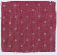 Spot Linen Crimson