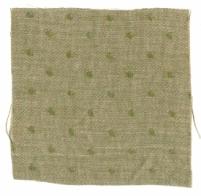 Spot Linen Fern Green Reverse