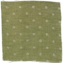 Spot Linen Fern Green