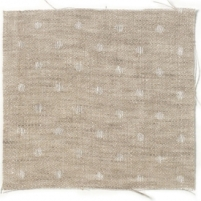 Spot Linen Natural White
