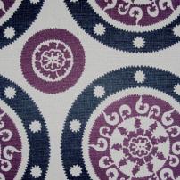 Tessa Charcoal Grey and Bright Purple