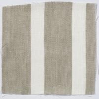 Wide Stripe Linen Natural