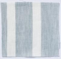 Wide Stripe Linen Parma Grey